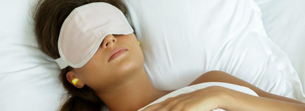 sleeping with earplugs